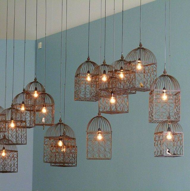 Best 25+ Cage Light Ideas Only On Pinterest | Cage Light Fixture Within Birdcage Pendant Lights Chandeliers (#6 of 15)