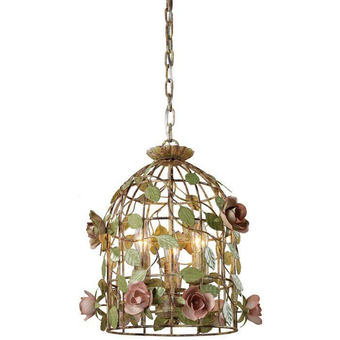 15 Inspirations Of Bird Cage Pendant Lights