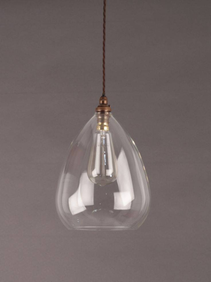 clear glass kitchen pendant lights 15 inspirations of clear glass pendant lights 8229