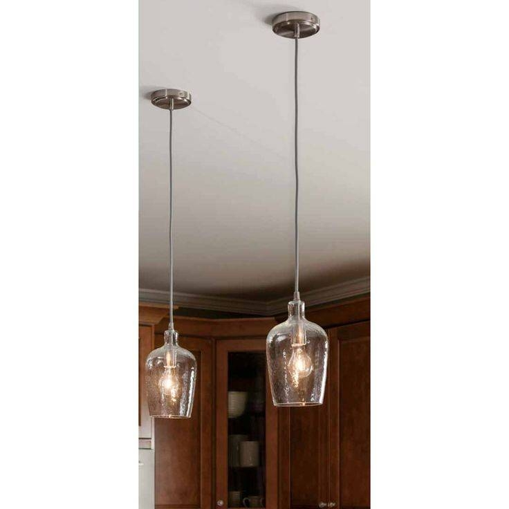 Best 25+ Clear Glass Pendant Light Ideas On Pinterest | Glass In Tiny Pendant Lights (View 2 of 15)