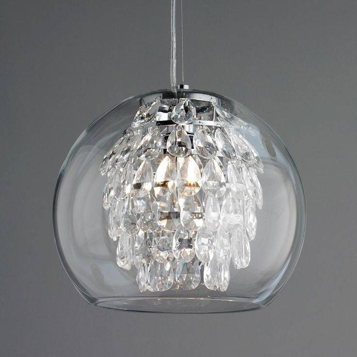 Best 25+ Clear Glass Pendant Light Ideas On Pinterest | Glass Inside Bubble Glass Pendant Lights (#3 of 15)