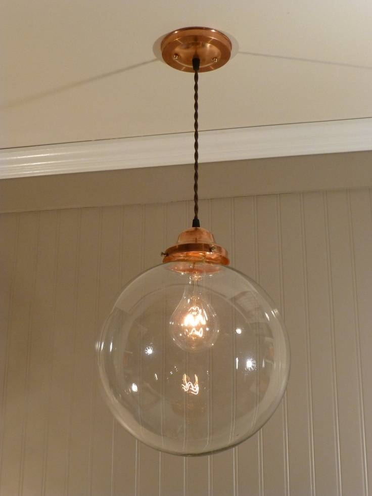 15 Ideas Of Clear Glass Ball Pendant Lights