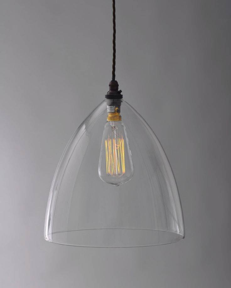 Best 25+ Clear Glass Pendant Light Ideas On Pinterest | Glass Intended For Easy Lite Pendant Lighting (#7 of 15)