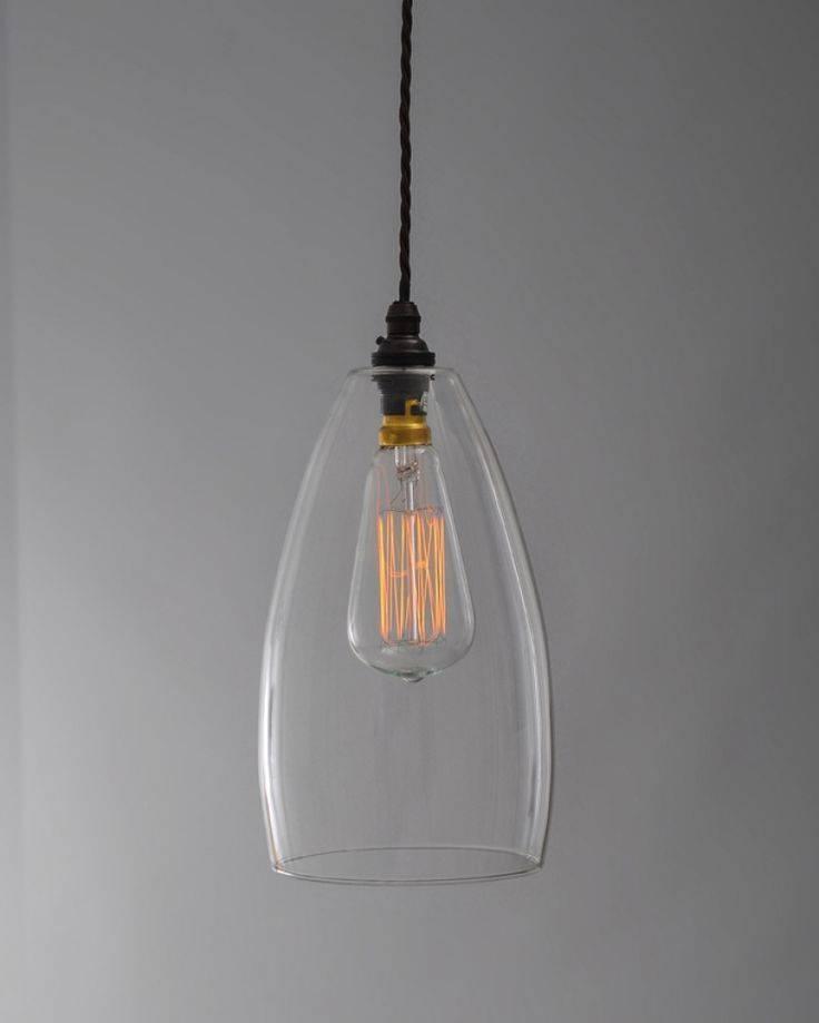 Best 25+ Clear Glass Pendant Light Ideas On Pinterest | Glass Within Glass Pendant Light Shades (#3 of 15)