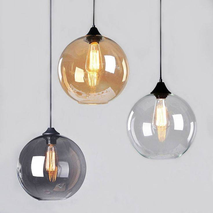 Best 25+ Glass Ceiling Lights Ideas On Pinterest | Beach Style With Regard To Glass Pendant Lights Fittings (#4 of 15)