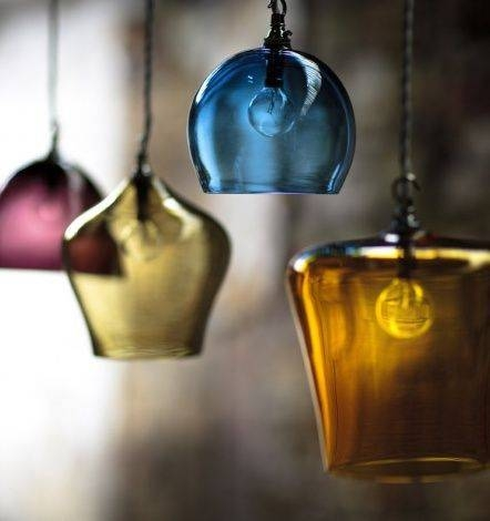 Best 25+ Glass Lights Ideas On Pinterest | Unique Lighting Regarding Coloured Glass Lights (#2 of 15)