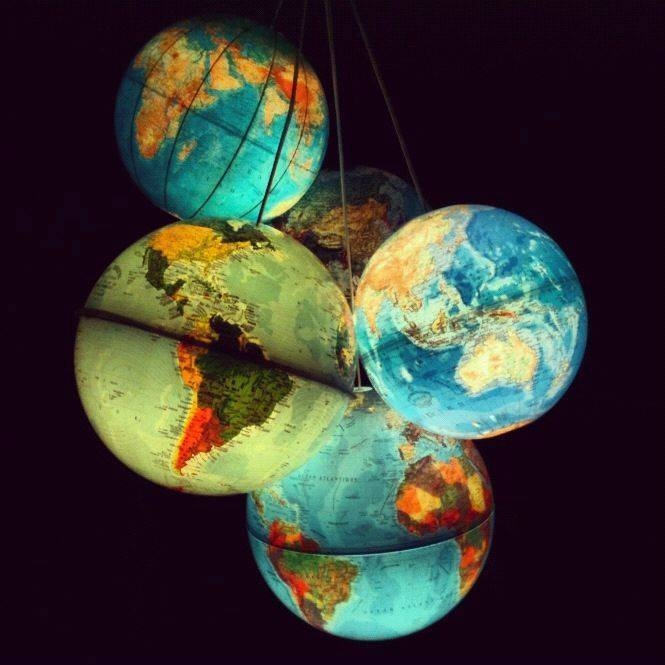 Best 25+ Globe Lamps Ideas On Pinterest | Globes, Global Map And Regarding Earth Globe Lights Fixtures (View 13 of 15)