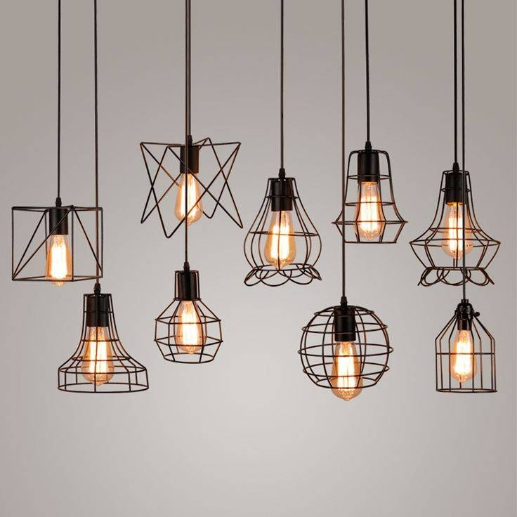 Best 25+ Hanging Lamps Ideas On Pinterest | Bedroom Lighting Pertaining To Industrial Pendant Lights (#3 of 15)