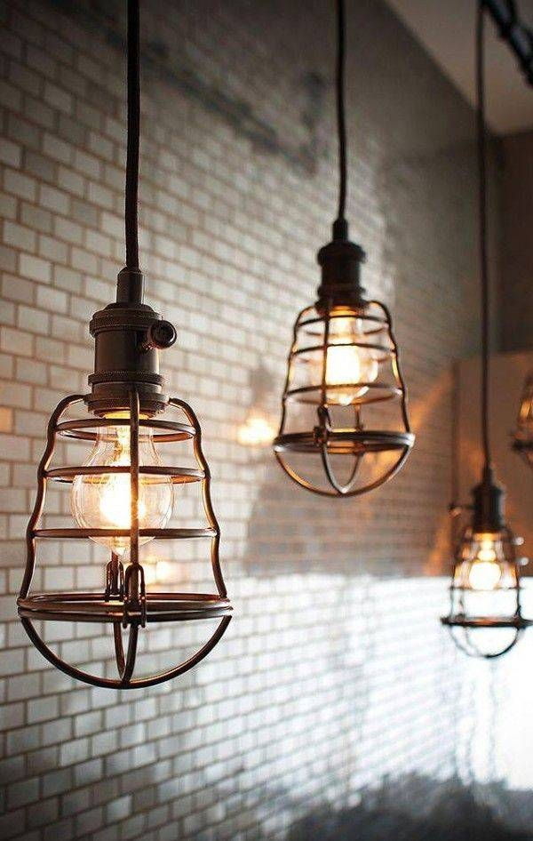 Best 25+ Industrial Pendant Lights Ideas On Pinterest | Industrial Inside Industrial Looking Pendant Light Fixtures (View 2 of 15)