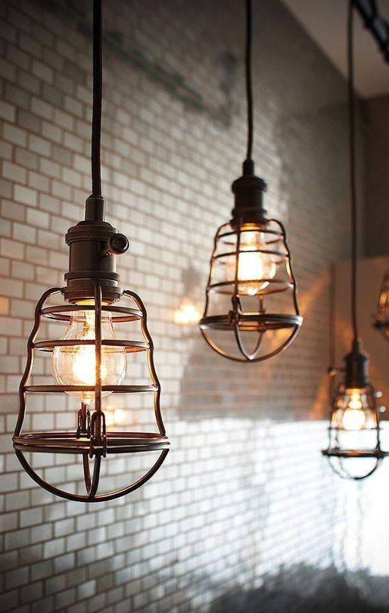 Best 25+ Industrial Pendant Lights Ideas On Pinterest | Industrial Pertaining To Industrial Looking Lights Fixtures (View 5 of 15)