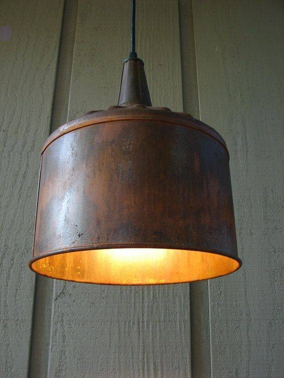 Best 25+ Industrial Pendant Lights Ideas On Pinterest | Industrial With Etsy Lighting Pendants (#12 of 15)