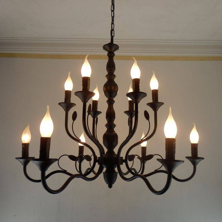 Best 25+ Iron Chandeliers Ideas Only On Pinterest | Plank Of Wood In Wrought Iron Lights Fittings (#4 of 15)
