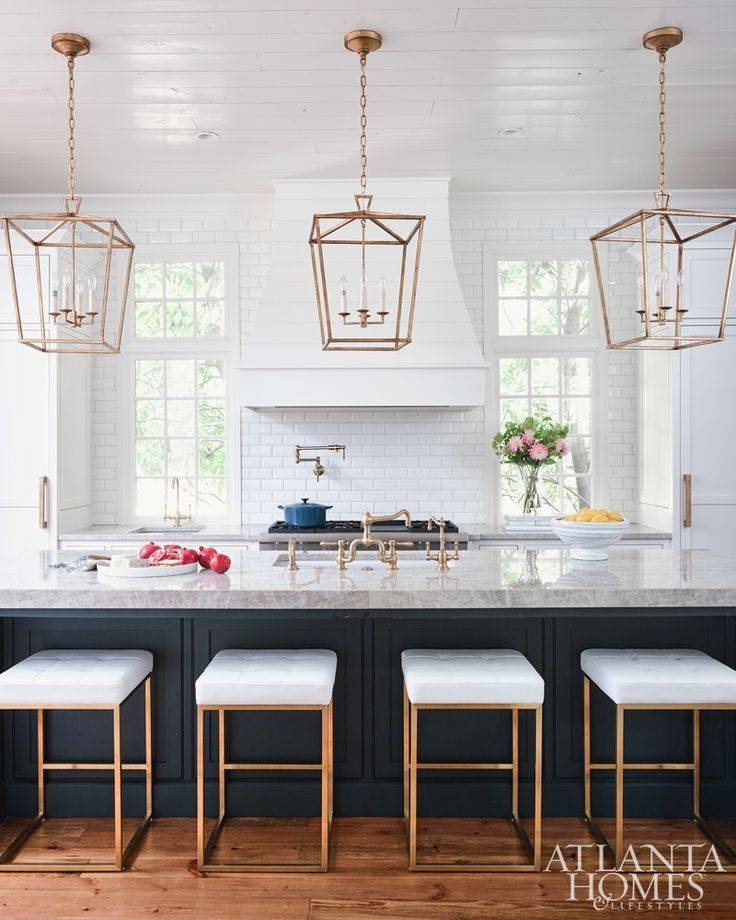 Popular Photo of Pendants For Kitchen Island
