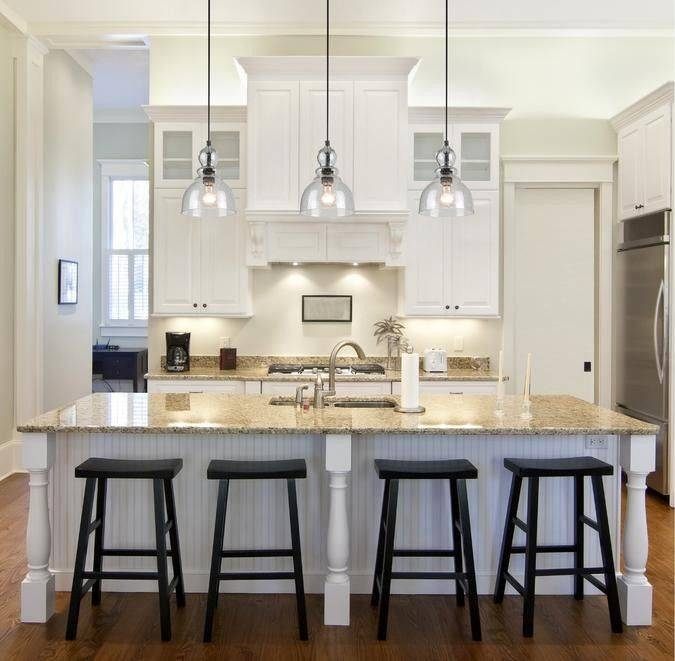 Best 25+ Kitchen Island Lighting Ideas On Pinterest | Island Regarding Mini Pendants Lights For Kitchen Island (View 7 of 15)