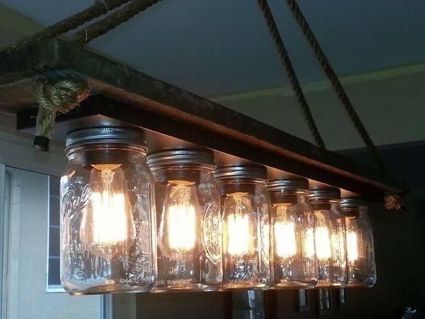 Best 25+ Mason Jar Lighting Ideas That You Will Like On Pinterest For Mason Jar Pendant Lights For Sale (#6 of 15)