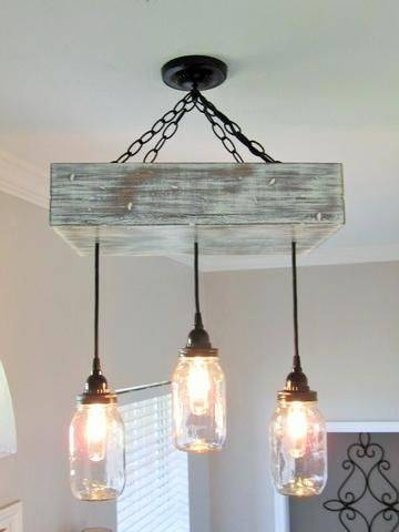 Best 25+ Mason Jar Lighting Ideas That You Will Like On Pinterest Inside Blue Mason Jar Lights Fixtures (#9 of 15)