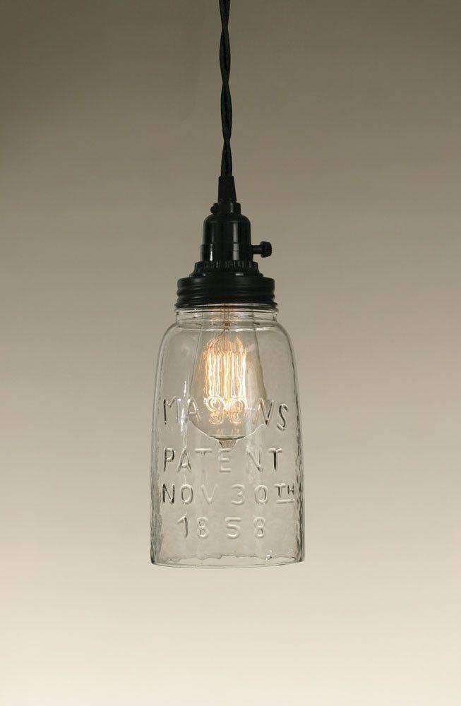 Best 25+ Mason Jar Pendant Light Ideas On Pinterest | Diy Pendant In Mason Jar Pendant Lights For Sale (#9 of 15)