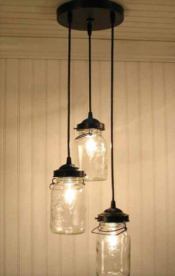 Best 25+ Mason Jar Pendant Light Ideas On Pinterest | Diy Pendant Within Ball Jar Pendant Lights (View 10 of 15)