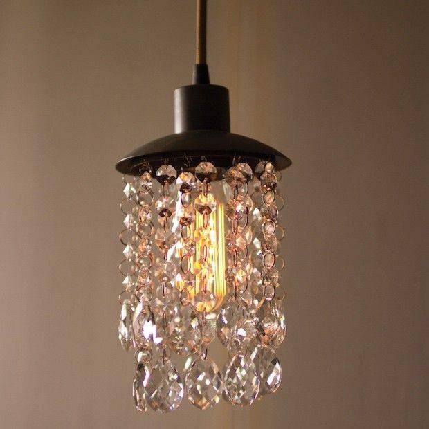 Best 25+ Mini Chandelier Ideas On Pinterest | Diy Chandelier Intended For Miniature Pendant Lights (#6 of 15)