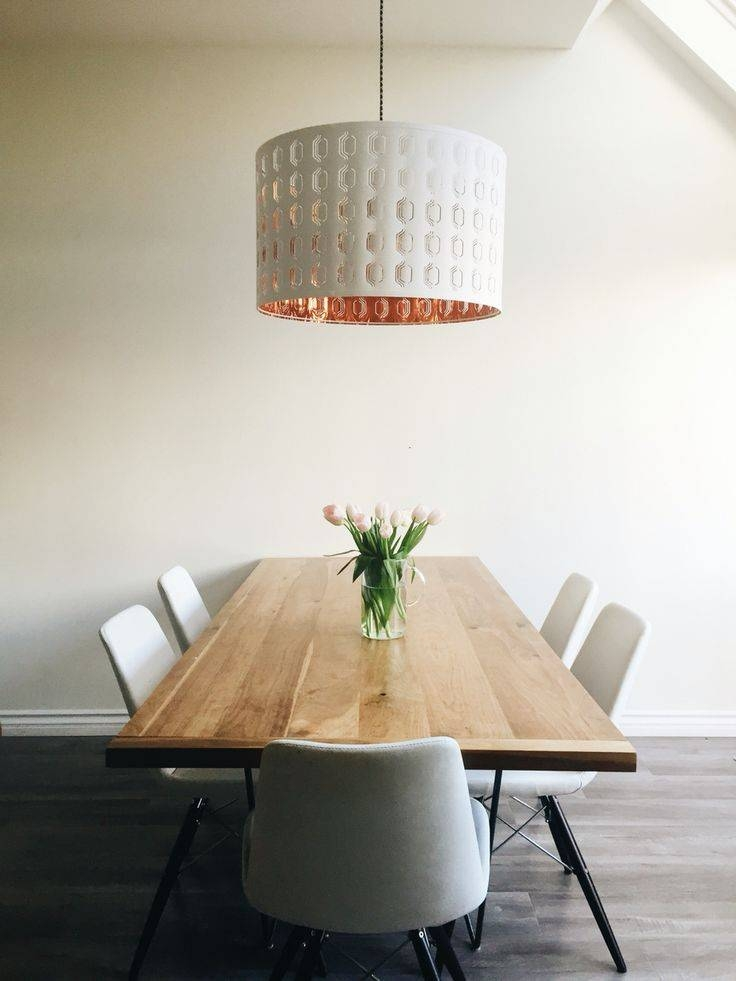 Best 25+ Minimalist Dining Room Ideas Only On Pinterest In Ikea Drum Lights (View 7 of 15)