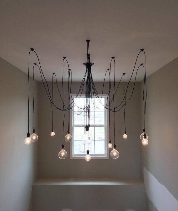Best 25+ Pendant Chandelier Ideas On Pinterest | Lighting For Coloured Cord Pendant Lights (#11 of 15)