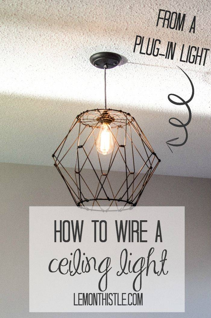 3 Home Decor Trends For Spring Brittany Stager: 15 Best Collection Of Plugin Ceiling Lights
