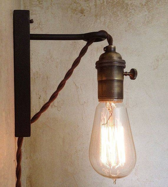 Best 25+ Plug In Wall Sconce Ideas On Pinterest | Plug In Intended For Plug In Hanging Pendant Lights (#2 of 15)