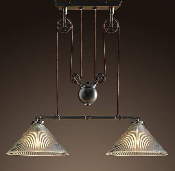Best 25+ Pulley Light Ideas On Pinterest | Pulley, Vintage In Pulley Lights Fixture (#7 of 15)