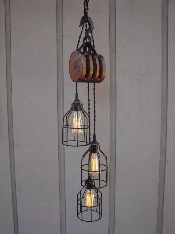 Best 25+ Pulley Light Ideas On Pinterest | Pulley, Vintage Intended For Double Pulley Pendant Lights (#5 of 15)