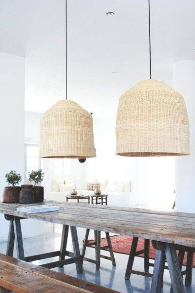 Popular Photo of Rattan Pendant Lighting