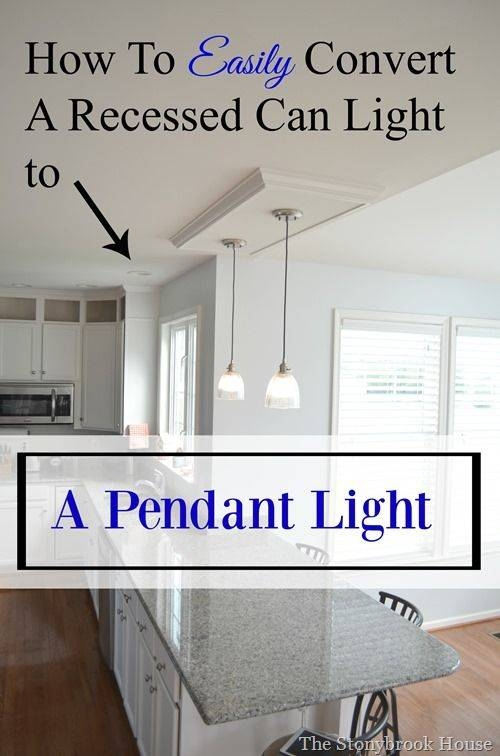 Best 25+ Recessed Light Ideas Only On Pinterest | Recessed Pertaining To Recessed Lights To Pendant (#3 of 15)