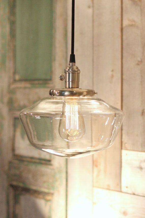 Best 25+ Schoolhouse Light Ideas On Pinterest | Vintage Light Regarding Schoolhouse Pendant Lights Fixtures (#4 of 15)