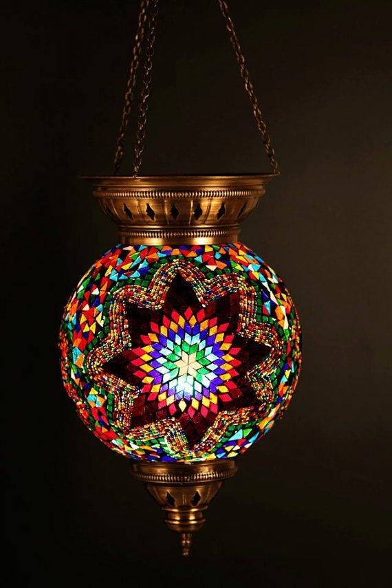 15 Photo Of Moroccan Style Lights Shades