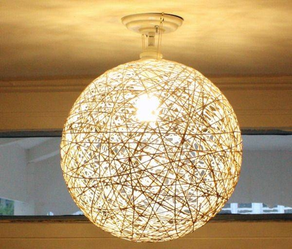 Best 25+ String Lanterns Ideas On Pinterest   String Balloons Regarding Diy Yarn Lights (#7 of 15)