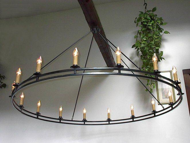 Best 25+ Wrought Iron Chandeliers Ideas On Pinterest | Wrought Pertaining To Wrought Iron Lights Fittings (#5 of 15)