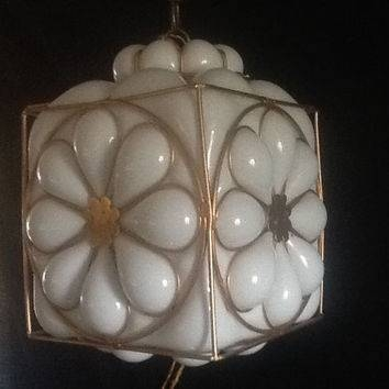 Best Milk Glass Pendant Products On Wanelo Throughout Milk Glass Lights Fixtures (View 8 of 15)