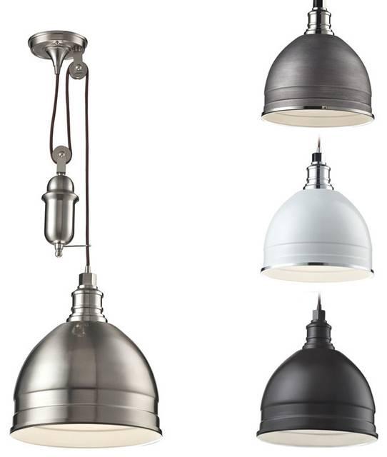 Best Pulley Pendant Light Pendant Lighting Ideas: Top Pulley Inside Pulley Pendant Lights Fixtures (#9 of 15)