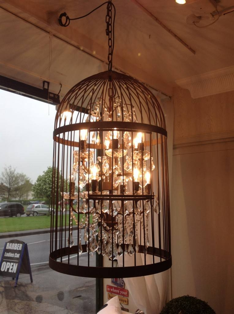 Bird Cage Chandelier Light – Hampton Court Interiors In Birdcage Lighting Chandeliers (#10 of 15)