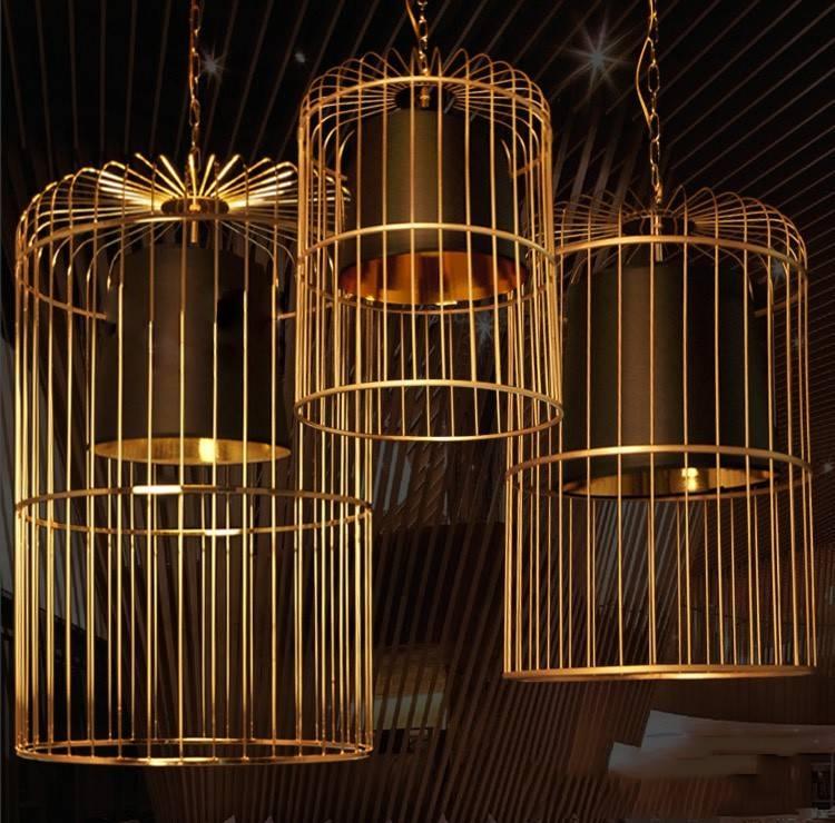 Bird Cage Pendant Light Chandelier – Best Sellers Throughout Birdcage Pendant Lights (#6 of 15)