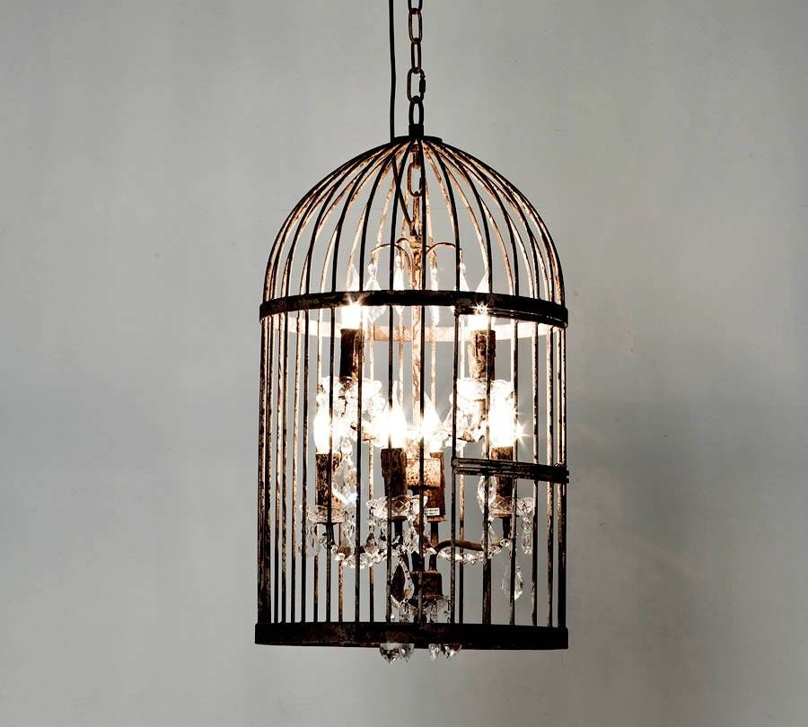 Birdcage Chandelier Designs : Beautiful And Popular Birdcage For Birdcage Pendant Light Chandeliers (#7 of 15)
