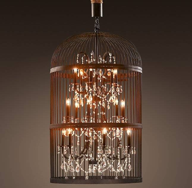 Birdcage Chandelier | Good Furniture Within Birdcage Lighting Chandeliers (#12 of 15)