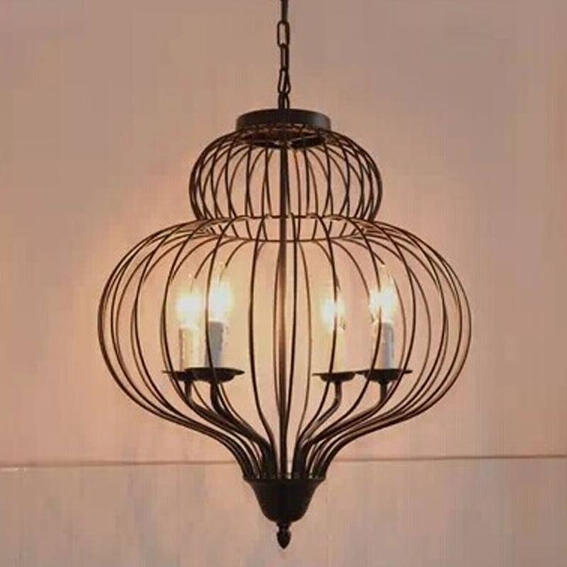 Birdcage Pendant Light Chandelier Promotion Shop For Promotional With Regard To Birdcage Pendant Light Chandeliers (#8 of 15)