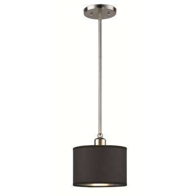 Black – Hampton Bay – Pendant Lights – Hanging Lights – The Home Depot Pertaining To Hampton Bay Pendant Lights (#3 of 15)