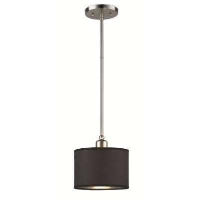 Black – Hampton Bay – Pendant Lights – Hanging Lights – The Home Depot With Regard To Hampton Bay Mini Pendant Lights (View 13 of 15)