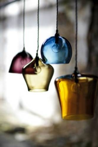 Blown Glass Pendant Lights Uk | Roselawnlutheran With Regard To Coloured Glass Pendants (View 10 of 15)