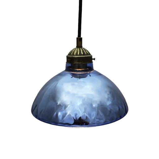 Blue Mercury Glass Pendant Light : Aurora Mills Architectural Salvage With Blue Mercury Glass Pendant Lights (#3 of 15)