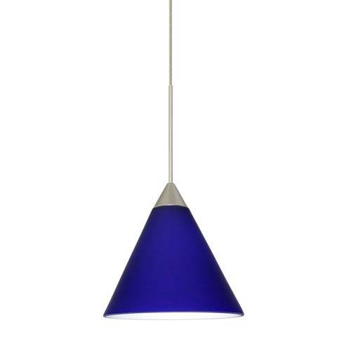 Blue Mini Pendant Lighting | Bellacor Inside Blue Pendant Light Fixtures (#10 of 15)