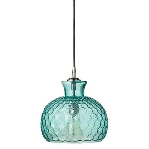 Blue Mini Pendant Lighting | Bellacor Regarding Aqua Pendant Lights (View 10 of 15)