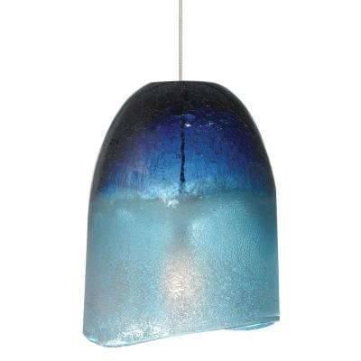 Popular Photo of Blue Pendant Light Fixtures