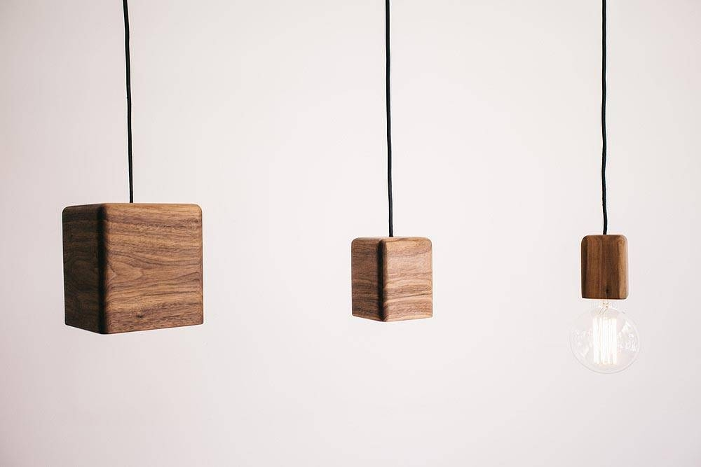 Progress Lighting Archie Collection 26 25 In 3 Light: 15 Best Collection Of Wooden Pendant Lights Melbourne